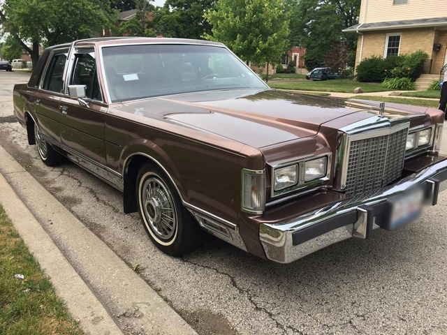 1987 Lincoln Town Car - Pictures - CarGurus