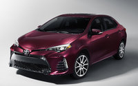 2017 Toyota Corolla, Front-quarter view., gallery_worthy
