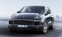 2017 Porsche Cayenne, Front-quarter view., exterior, manufacturer