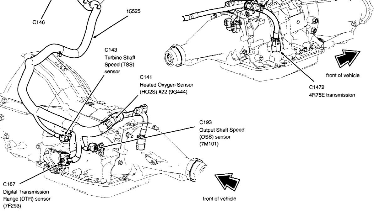 99 F350 Transmission Connector Wiring Diagram Libraries 2003 Ford Expedition Questions Cargurus99 19