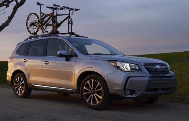 2017 Subaru Forester, Front-quarter view, exterior, manufacturer