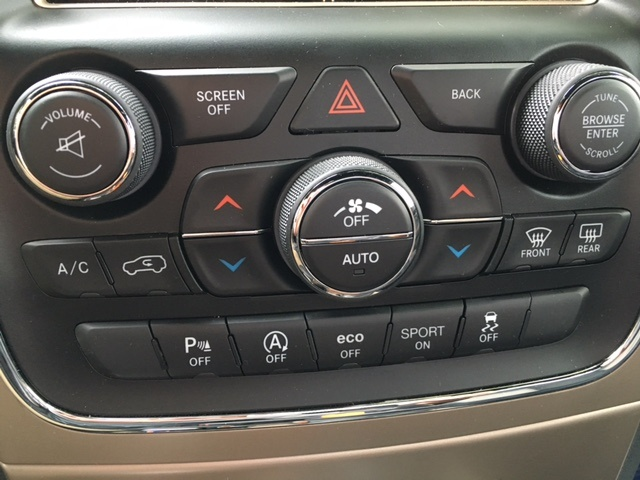 Jeep Grand Cherokee Questions - Do climate control, volume, tune and