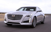 2017 Cadillac CTS, Front-quarter view. Copyright General Motors., exterior, manufacturer