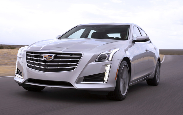 2017 Cadillac CT6, Front-quarter view. Copyright General Motors., exterior, manufacturer