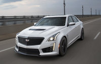 2017 Cadillac CTS-V, Front-quarter view. Copyright General Motors., exterior, manufacturer