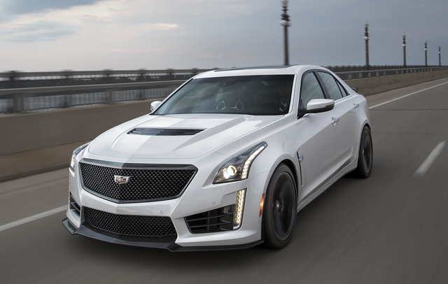 2018 cadillac cts v. unique 2018 2017 cadillac ctsv frontquarter view copyright general motors and 2018 cadillac cts v r