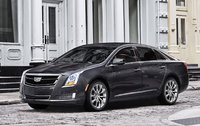 2017 Cadillac XTS, Front-quarter view. Copyright General Motors., exterior, manufacturer