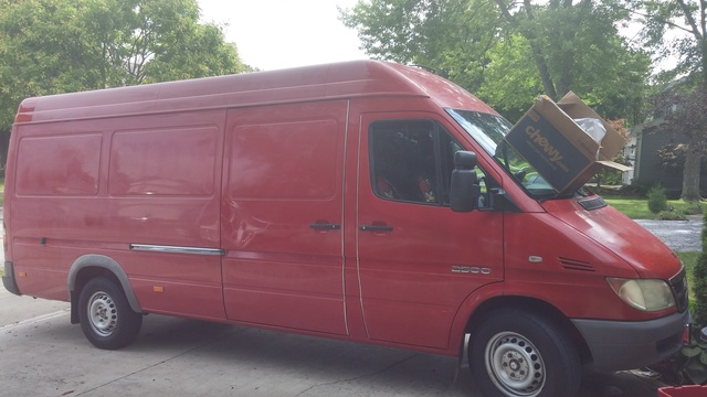 Picture of 2005 Dodge Sprinter Cargo 3 Dr 2500 High Roof 158 WB Cargo Van Extended
