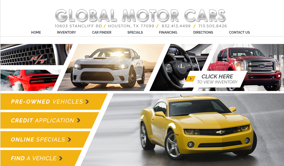 Global Auto Motors Houston Tx Read Consumer Reviews Browse Used And New Cars For Sale