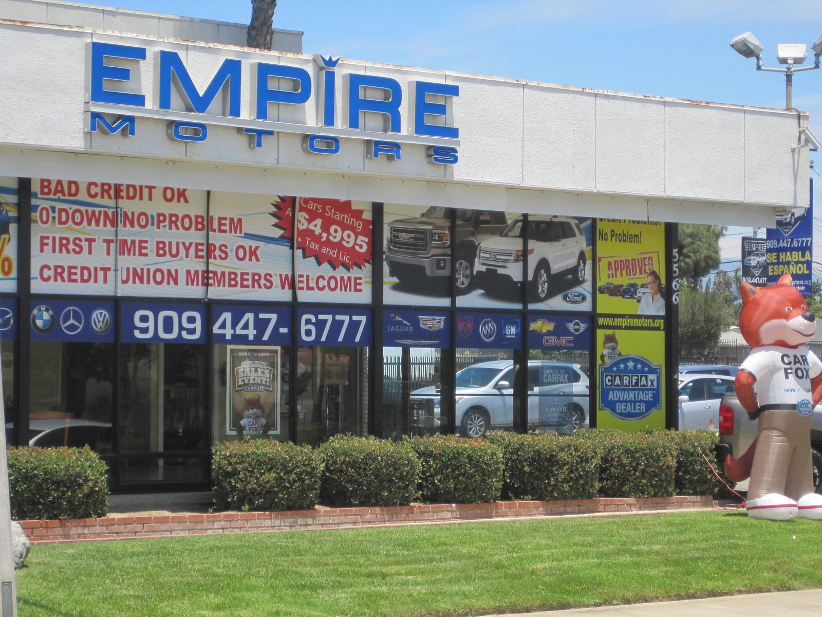 Empire motors montclair ca read consumer reviews for Empire motors auto sales