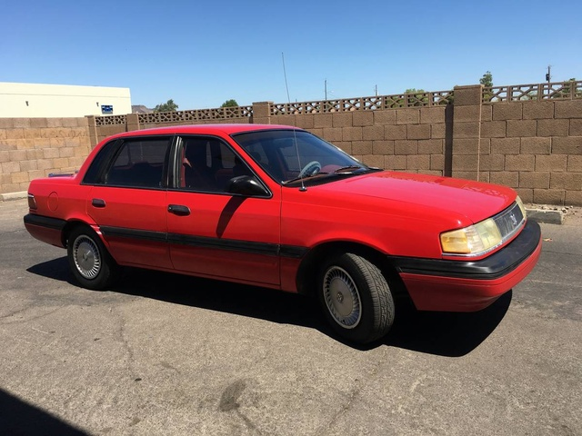 Picture of 1991 Mercury Topaz 4 Dr GS Sedan