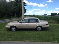 Picture of 1994 Mercury Topaz 4 Dr GS Sedan, exterior