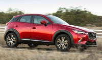 2017 Mazda CX-3, Front-quarter view, exterior, manufacturer, gallery_worthy