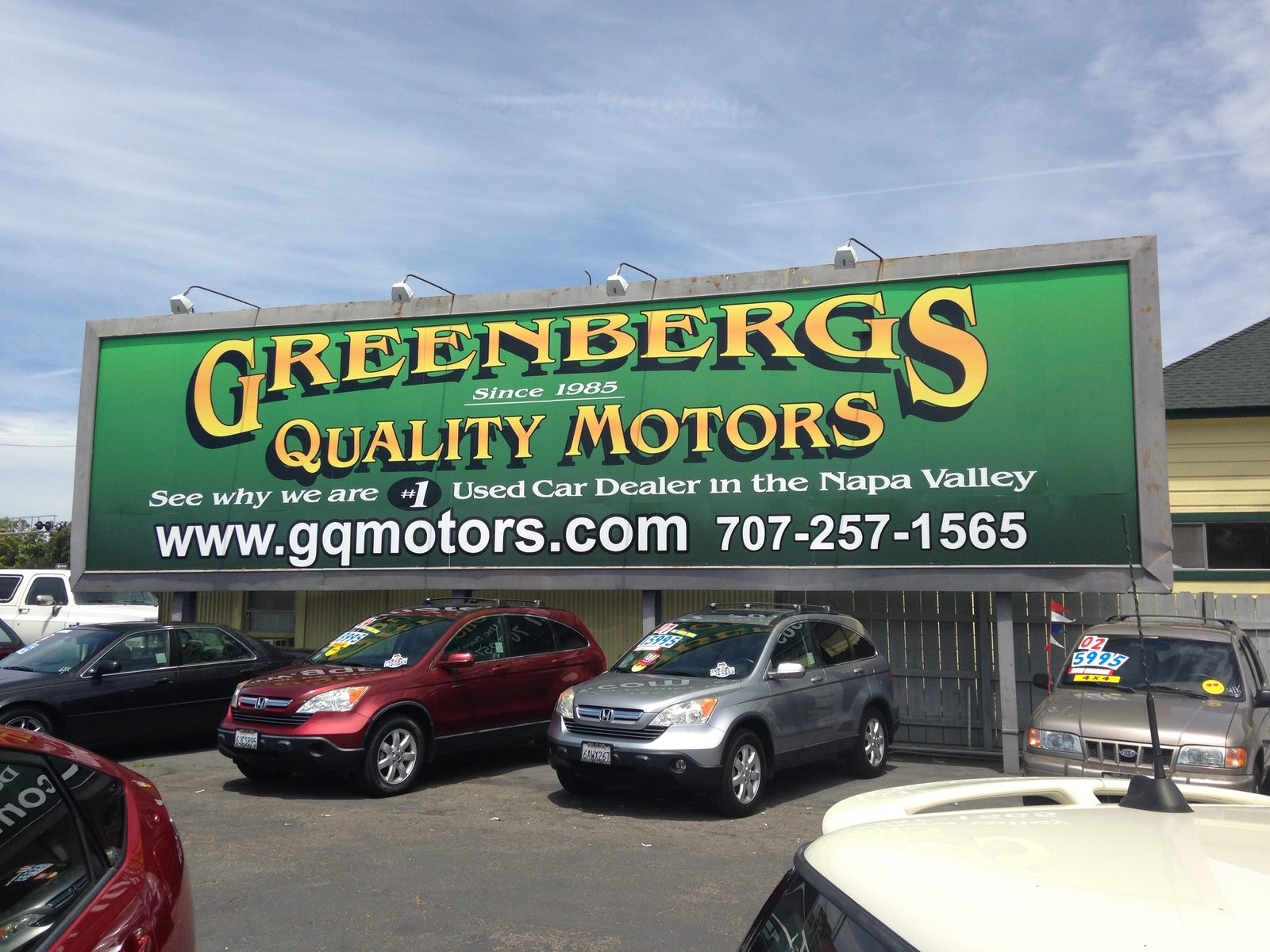 Greenbergs Quality Motors - Napa, CA: Read Consumer reviews, Browse Used and New Cars for Sale