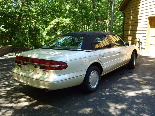 Picture of 1996 Lincoln Continental 4 Dr STD Sedan, exterior