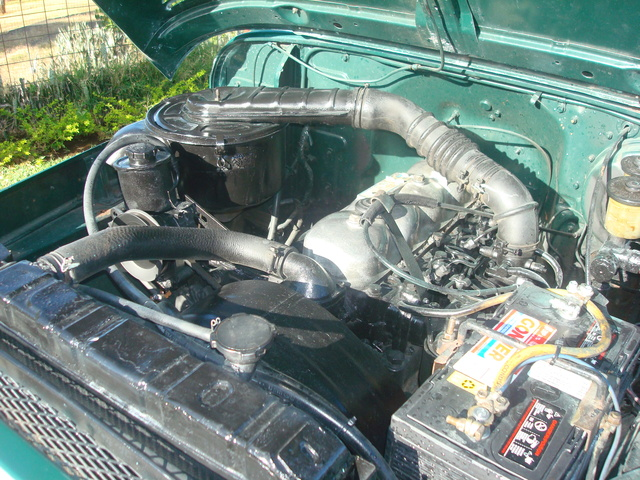 Picture of 1978 Toyota Land Cruiser, engine