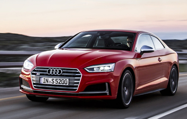 2017 Audi S5, Front-quarter view, exterior, manufacturer, gallery_worthy