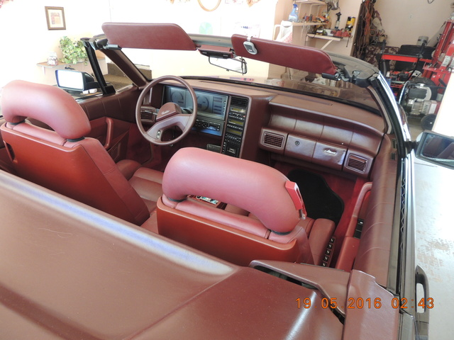 Picture of 1988 Cadillac Allante Base Convertible, interior