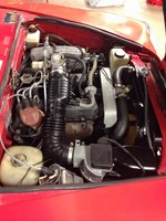 Picture of 1982 Fiat 124 Spider, engine