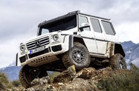 2017 Mercedes-Benz G-Class, Front-quarter view, exterior, manufacturer, gallery_worthy