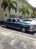 Picture of 1988 Cadillac Fleetwood D'elegance Sedan, exterior
