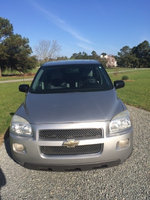 2008 Chevrolet Uplander LT Ext, Front view, exterior