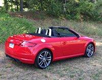 2016 Audi TT 2.0T quattro Roadster, 2016 Audi TT Roadster, Rear Three Quarter View, Top Down, exterior