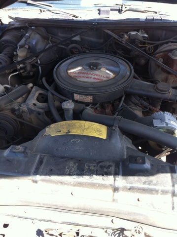 Picture of 1973 Oldsmobile Cutlass, engine
