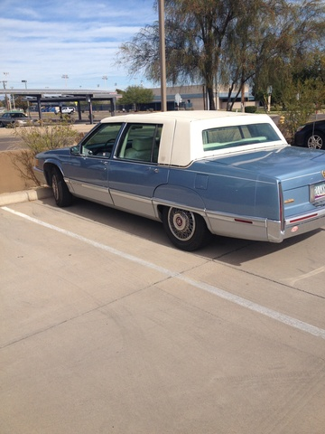 Picture of 1992 Cadillac Fleetwood 4 Dr STD Sedan, exterior