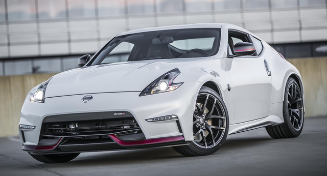 2017 Nissan 370Z, Front-quarter view., exterior, manufacturer, gallery_worthy