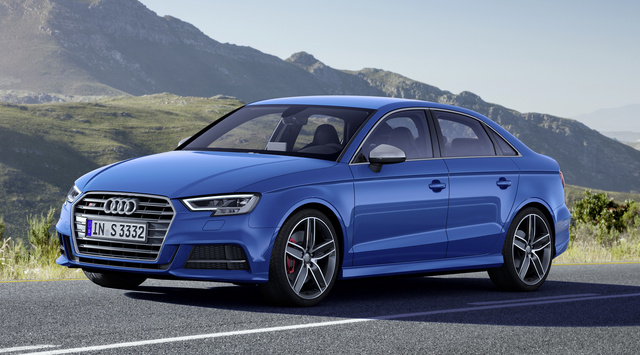 2017 Audi S3, Front-quarter view., exterior, manufacturer, gallery_worthy