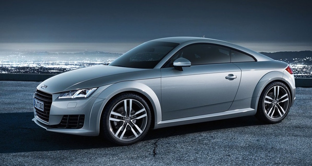 2017 Audi TT, Front-quarter view., exterior, manufacturer, gallery_worthy