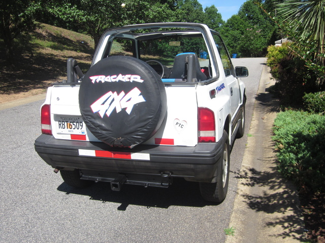 Picture of 1992 Geo Tracker 2 Dr LSi 4WD Convertible