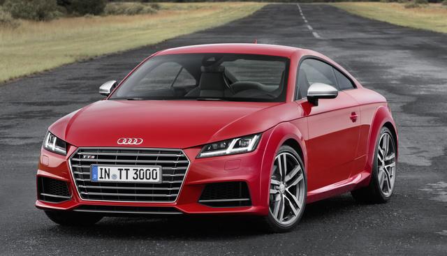 2017 Audi TTS, Front-quarter view., exterior, manufacturer