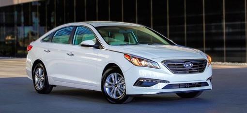 2017 Hyundai Sonata, Front-quarter view., exterior, manufacturer