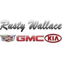 Rusty Wallace Cadillac GMC Kia logo