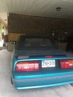 Picture of 1993 Mercury Capri 2 Dr STD Convertible, exterior
