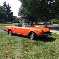 1978 Fiat 124 Spider Picture Gallery