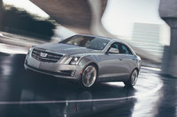 2017 Cadillac ATS, Front-quarter view. Copyright General Motors., exterior, manufacturer