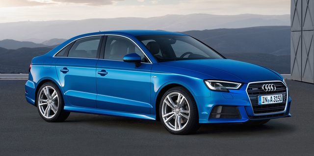 2017 Audi A3, Front-quarter view., exterior, manufacturer, gallery_worthy
