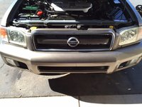 Picture of 2002 Nissan Pathfinder SE 4WD, engine