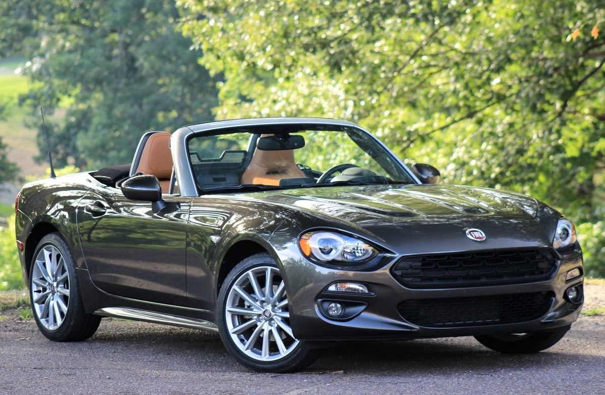 Exterior of the 2017 Fiat 124 Spider