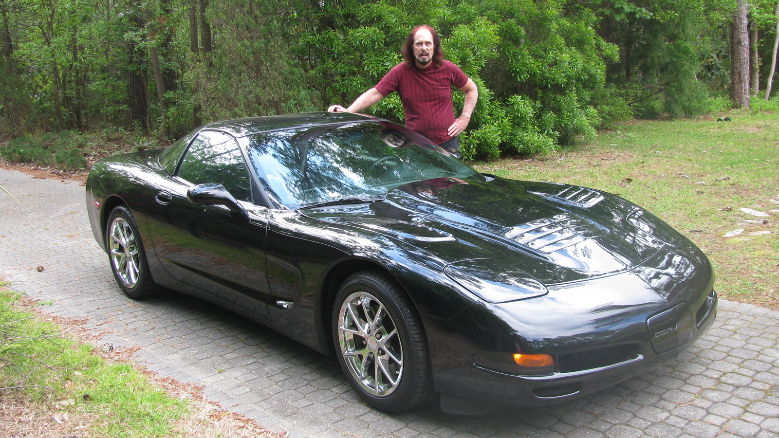 Chevrolet Corvette Questions - why does my left front break suddenly