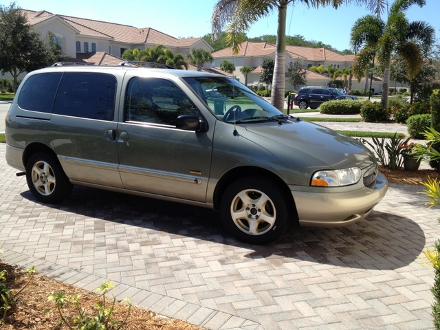 Picture of 2002 Mercury Villager 4 Dr Estate Passenger Van, exterior, gallery_worthy