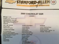 Picture of 2005 Chevrolet SSR 2 Dr LS Convertible Standard Cab SB