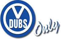 VDubs Only logo
