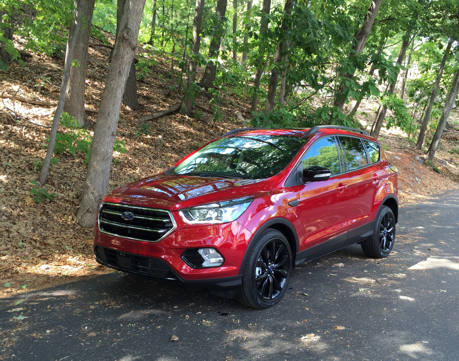 2017 Ford Escape Front Quarter