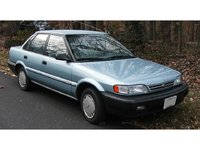1990 Geo Prizm 4 Dr STD Sedan, Not an actual picture of MINE, but same body style. Mines grey with 10-spoke rims, exterior