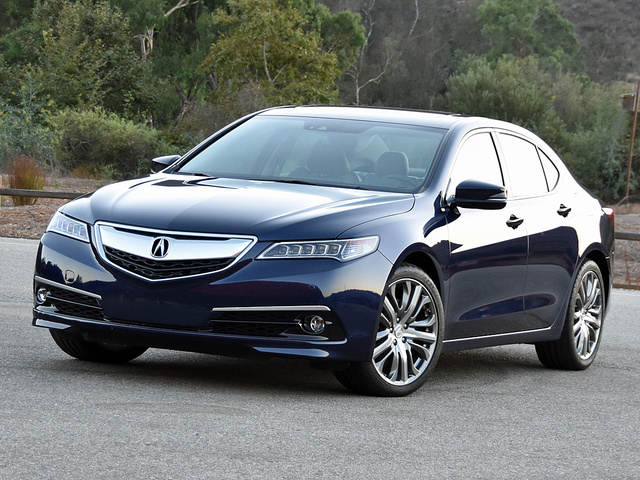 2016 Acura TLX Advance in Fathom Blue