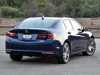 2016 Acura TLX Advance in Fathom Blue, exterior